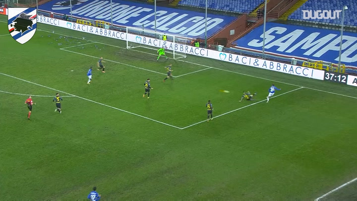 Mikkel Damsgaard's impressive assist against Inter