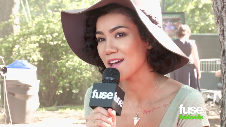 Interviews: Jhene Aiko at ACL Fest 2014