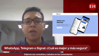 WhatsApp, Telegram o Signal: ¿Cuál es mejor y más segura?