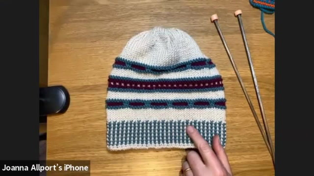 Christmas Workshop with Jo Allport: Knit a Slip Stitch Hat