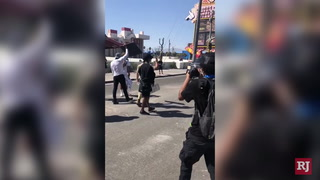 Protests continue at the Strip