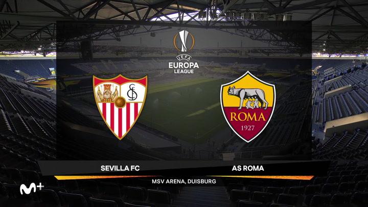 Europa League Resumen y Goles del Sevilla-Roma