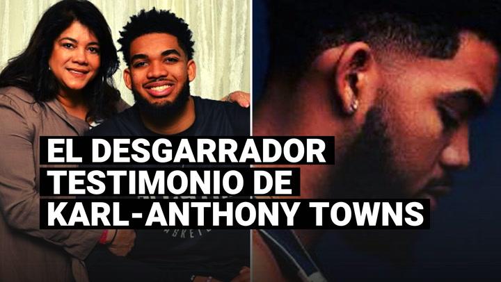 El duro testimonio de Karl-Anthony Towns tras el debut ganador de los Timberwolves en la NBA