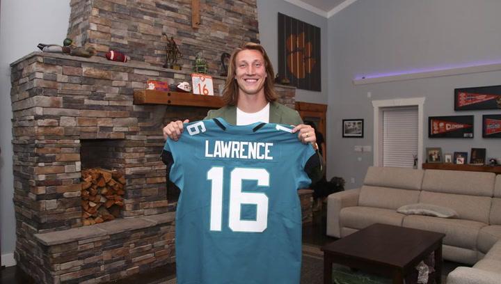 Trevor Lawrence, seleccionado por los Jaguars con el número 1