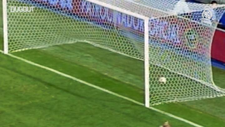 Beckham'ın Real Madrid'teki İlk Golü