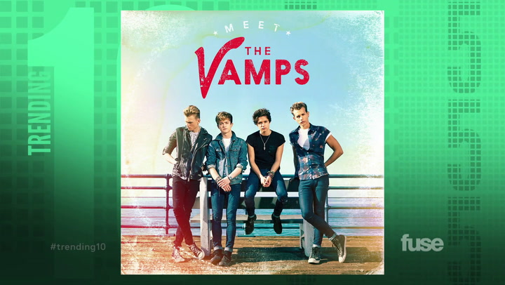 The Vamps Trending 10 (SYNDICATION)