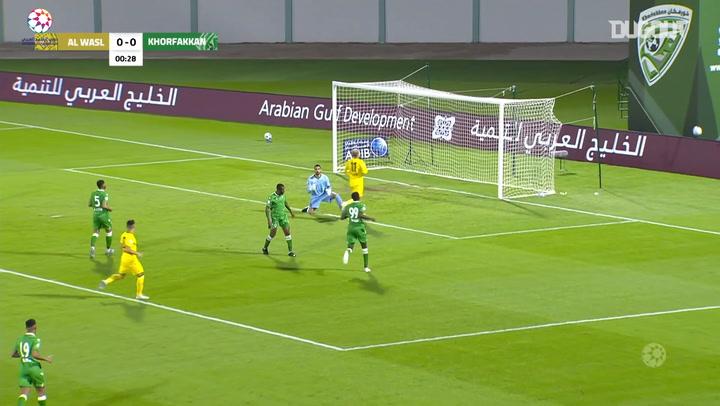 Highlights: Khorfakkan 0-1 Al-Wasl