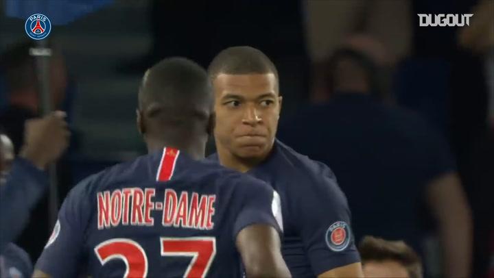 Kylian Mbappé hits hat-trick vs Monaco