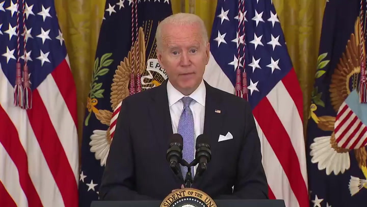 Biden: US federal workers must 'attest' to vaccine status or face masks, testing and distancing
