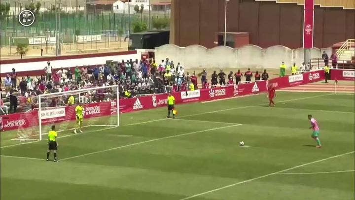 Resumen del UCAM Murcia-FC Barcelona B