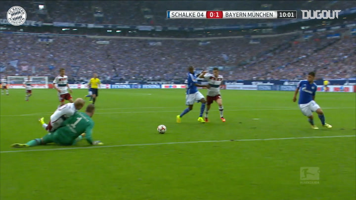 Robert Lewandowski's best goals against Schalke 04