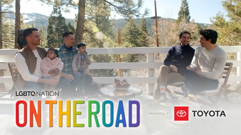 LGBTQ Nation's ON THE ROAD: Big Bear with Matt & Joseph