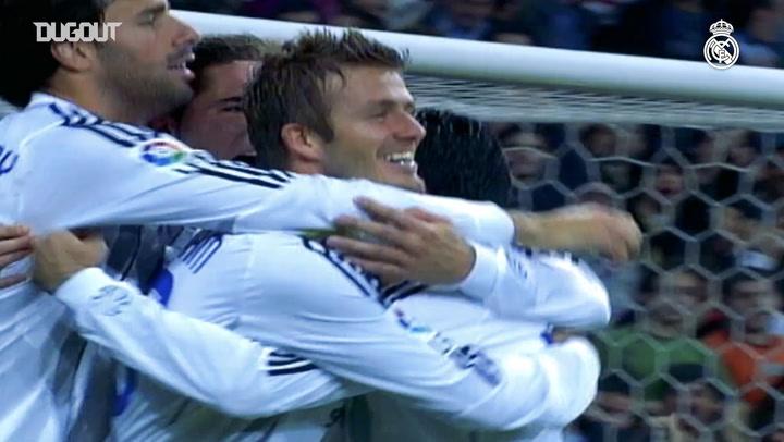 David Beckham's goals for Real Madrid - Part IV