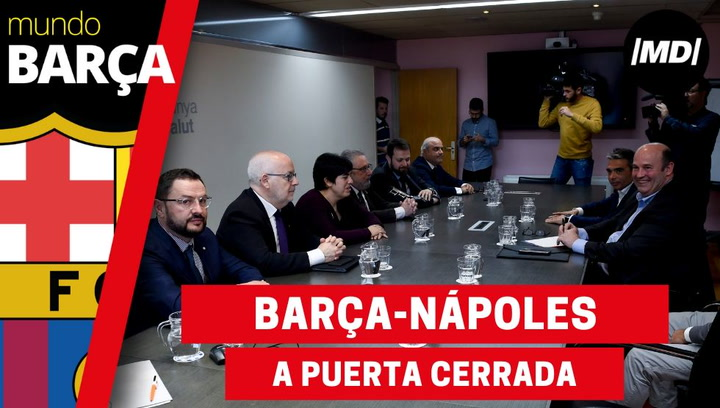 El Barça-Nápoles se disputará a puerta cerrada a causa del coronavirus