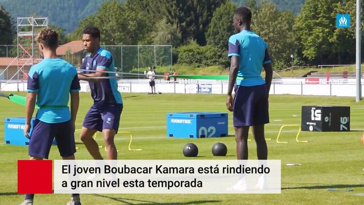 El Barça tras los pasos de Bouba Kamara