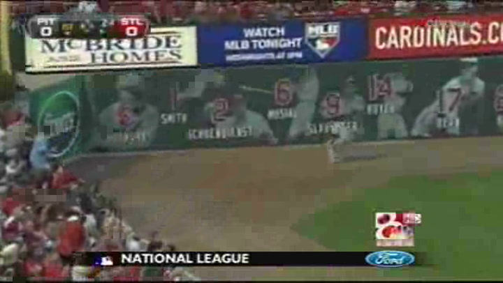 Holliday's 3-Run Homer Blasts Cardinals Past Pirates