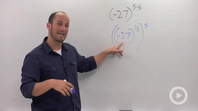 Rational Exponents with Negative Coefficients - Problem 2