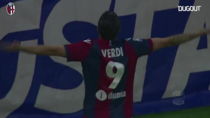 Verdi's perfect free-kick vs Sassuolo