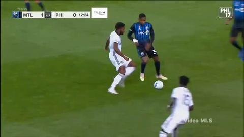 Romell Quioto anota golazo de tiro libre y luego se va expulsado en la MLS