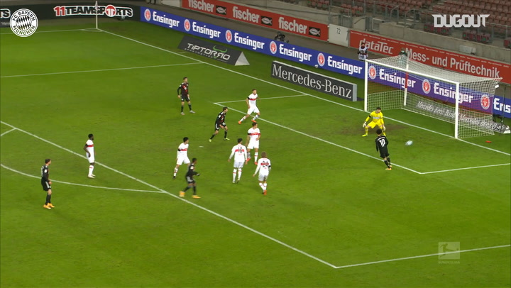 Douglas Costa scores first goal on FC Bayern return