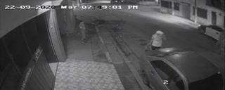 Cámaras de seguridad captan asesinato de joven en Comayagüela