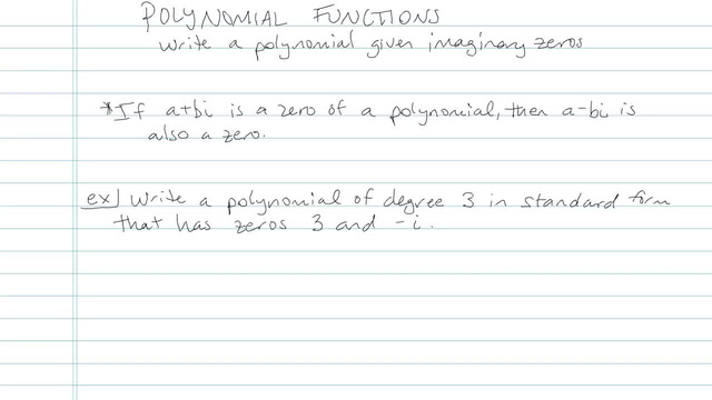 Polynomial Function - Problem 6