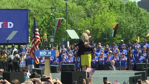 Joe Biden lanza su campaña para la presidencia de Estados Unidos