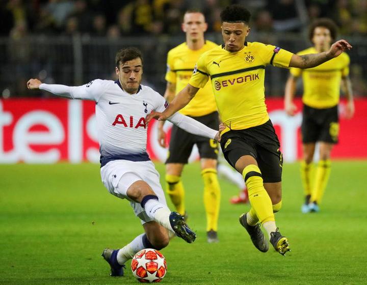 Jadon Sancho, Borussia Dortmund, más cerca del Barça