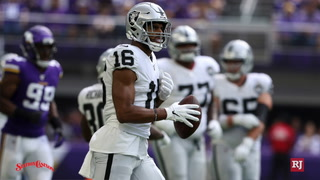 Raiders offense stays positive about progress despite loss to Vikings