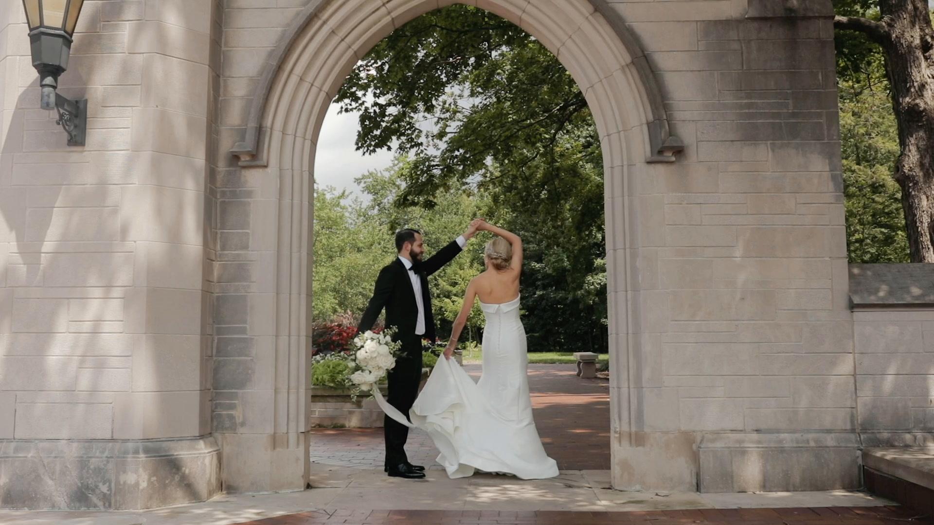 Katlynne + Adam   Bloomington, Indiana   Indiana Memorial Union