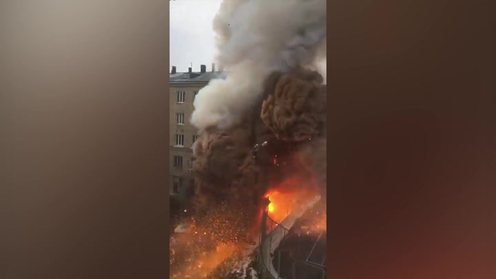 (VIDEO) SNAŽNA EKSPLOZIJA U BOLNICI! Evakuisano više od 150 pacijenata, iz ruskog grada stižu stravični prizori!