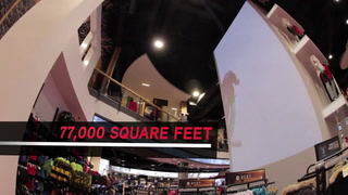 Sport Chek West Edmonton Mall flagship store walkthrough