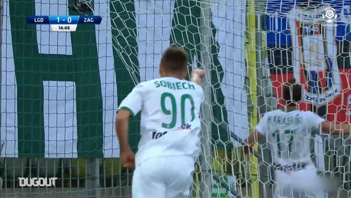 Artur Sobiech's top three goals in the Ekstraklasa