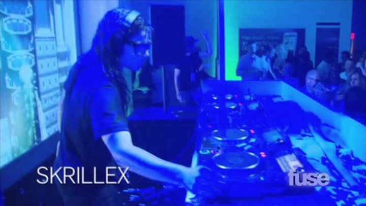 Skrillex and Swedish House Mafia DJ Samsung's Launch Party