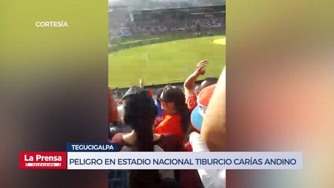 Peligro en el Estadio Nacional Tiburcio Carías Andino