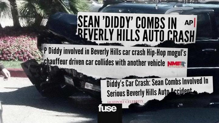Diddy In A Car Accident