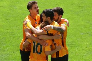 Raúl Jiménez marca en la goleada del Wolverhampton sobre el Everton de Ancelotti