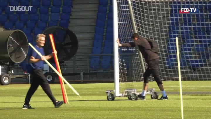 Basel captain Valentin Stocker discusses training return