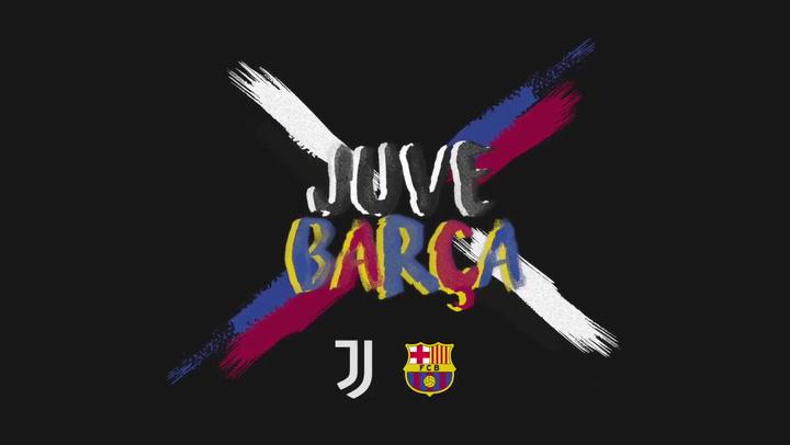 La Juve calienta el partido ante el Barça con este espectacular vídeo