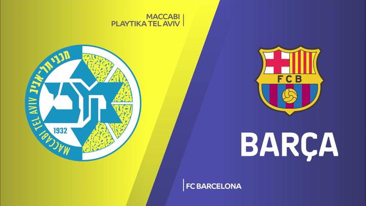 Resumen del Maccabi Tel Aviv - FC Barcelona de Euroliga