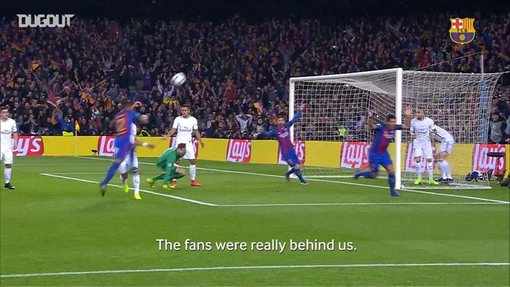 Dugout Exclusive: Sergi Roberto On Barça's Famous Comeback Vs PSG - Dugout