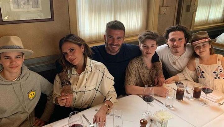 Las lujosas vacaciones de los Beckham