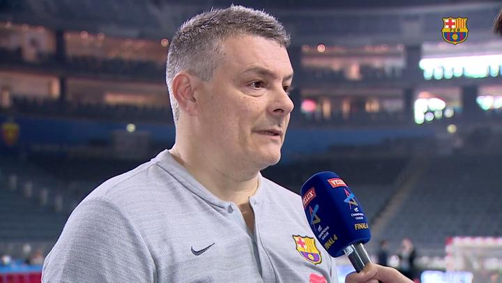 Las declaraciones de los protagonistas tras el Barça-Vardar