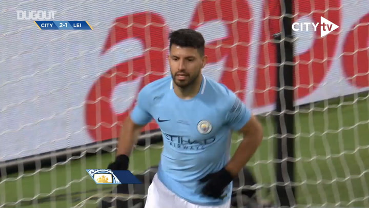 Sergio Agüero's unstoppable performance vs Leicester City