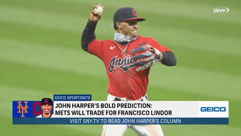 SportsNite: How Mets could land Francisco Lindor and still keep Pete Alonso and Dom Smith