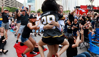 Golden Knights Watch Party Highlights