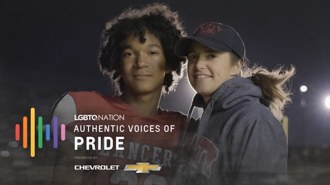 17 year old football player Marc and NBA's Jason Collins on LGBTQ representation in sports