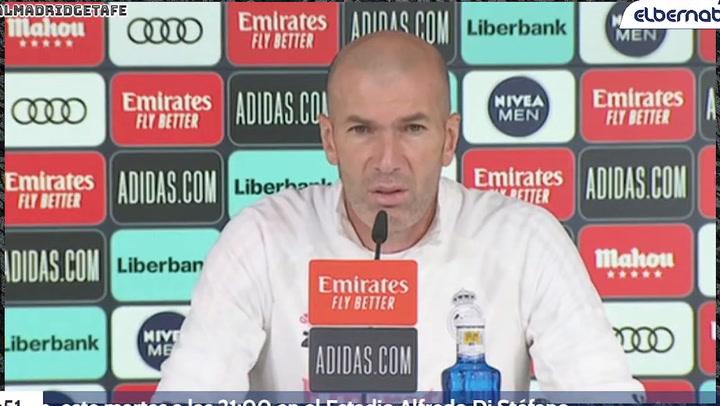 """Zidane: """"Sergio estaba al límite. Ha salido bien, todo perfecto y esperamos recuperarle cuanto antes"""