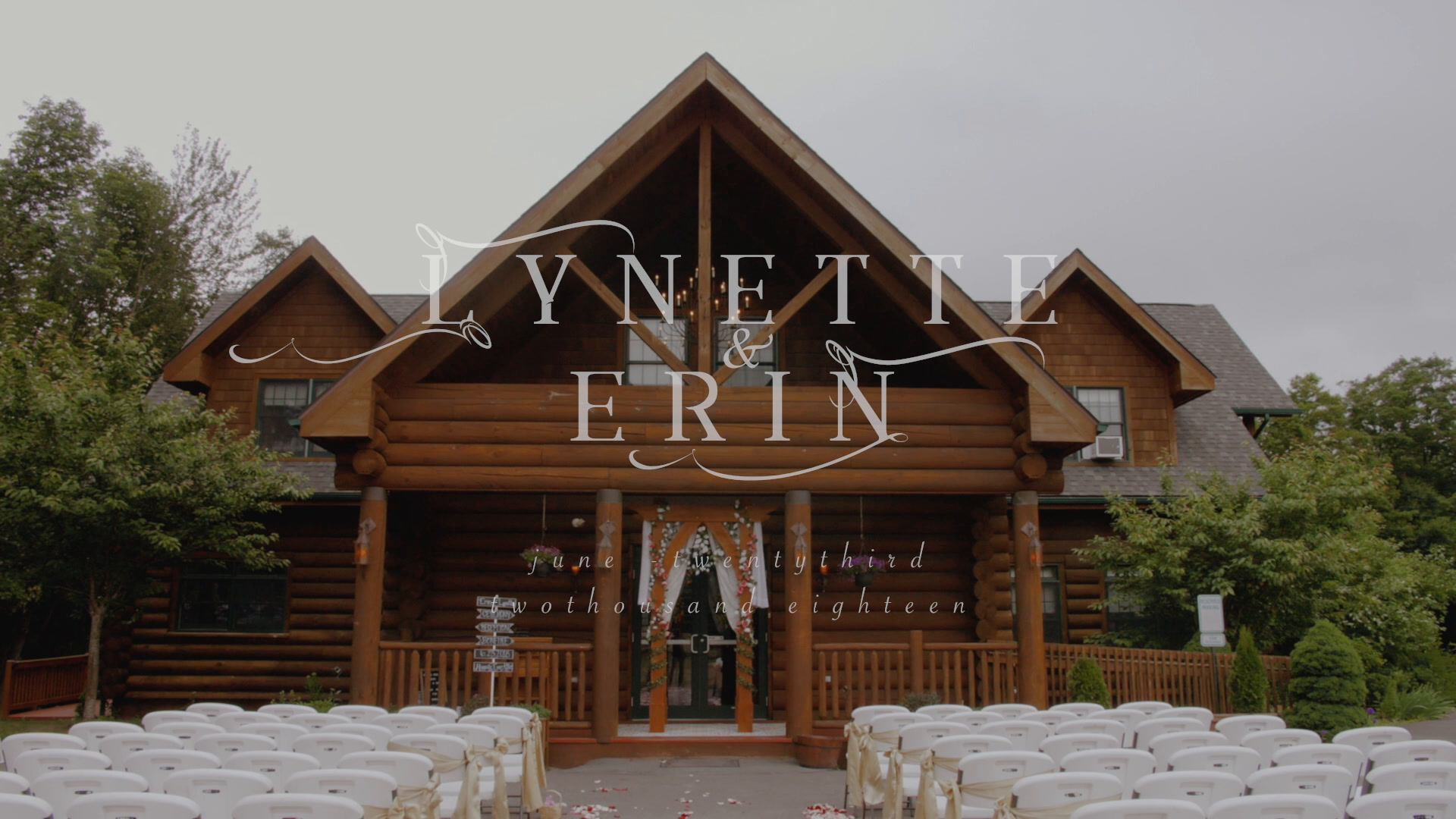 Lynette + Erin | Waymart, Pennsylvania | the lodge at keen lake