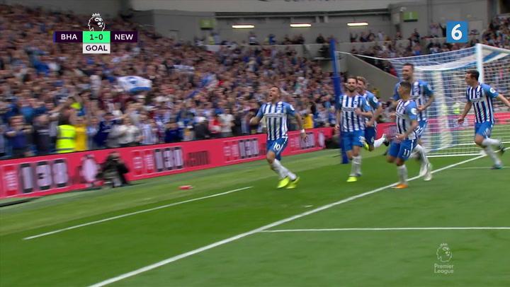 Brighton finder vej gennem Newcastle-forsvaret